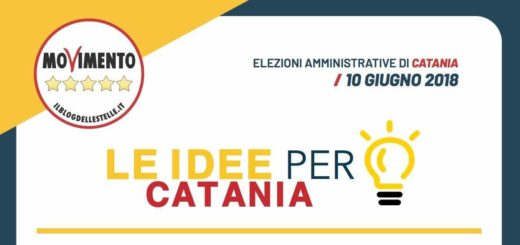 movimento 5 stelle 10 idee per Catania
